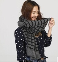 free shipping  2014 new style winter scarf  four colour 210*30cm size