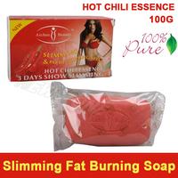 100% Pure HOT Chili Essence Lose Weight Loss Slimming & Fat Decreasing Hand Soap Fat Burning Effective slim cream partner 100g