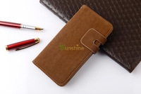 "10pcs/lot  Soft Luxury Wallet  PU Leather Book Stand Case For iPhone 6 4.7""  For Iphone 6 Plus 5.5"" With Card Slot Flip"