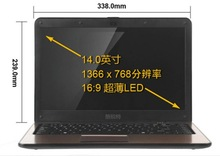 14 inches netbooks Brand new authentic Intel i3 laptops Ultra thin widescreen portable handheld super game
