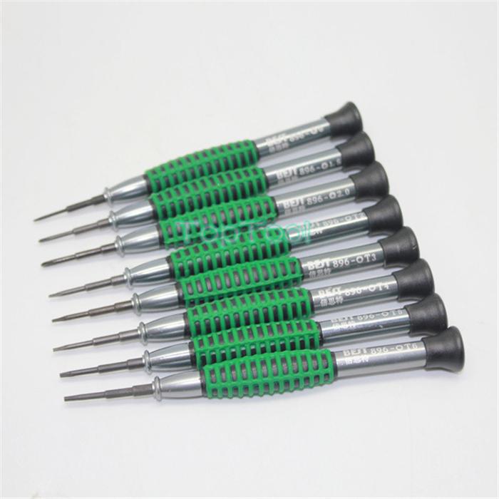 8pieces/set BST - 896 Phillips Precision Screwdriver Torx Set Phone Tools PH00/PH000/T3/T4/T5/T6 Screwdrivers Set H2909(China (Mainland))
