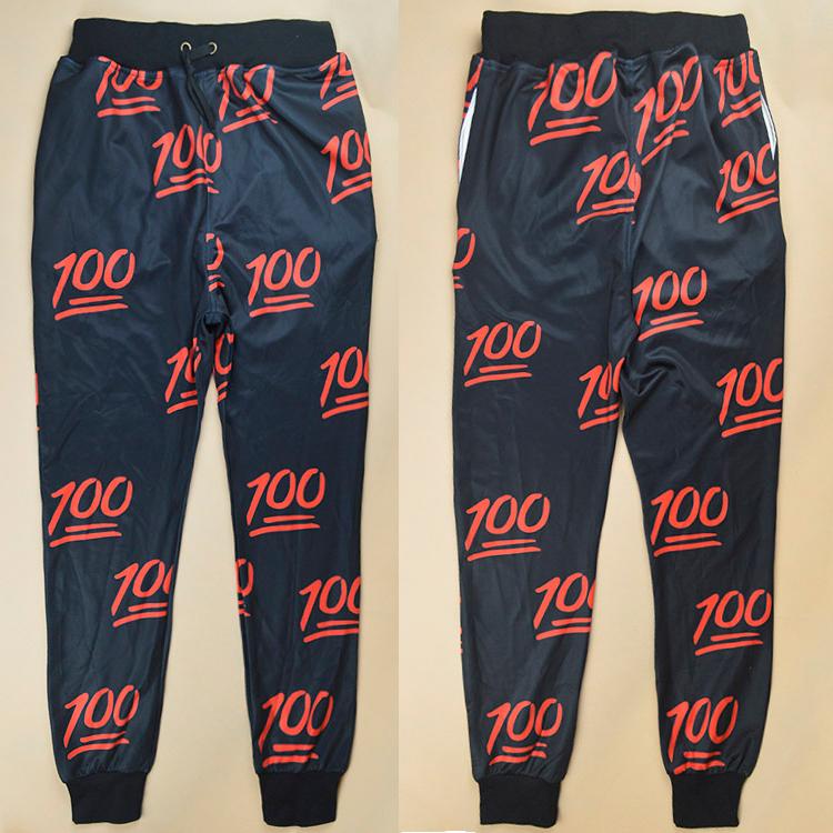 Emoji 100 Jogger Pants
