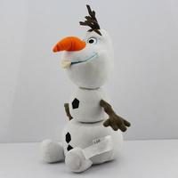 Retail 1pcs  35CM 14inch Cartoon Frozen plush Frozen Olaf Plush Olaf plush Toys Frozen figures