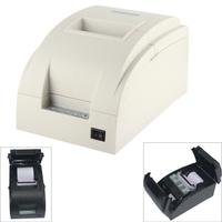 9 Pin Serial Dot Matrix Receipt Printer ZJ-7650 9-pin impact dot matrix printer pos printer for Supermarket Bills Print