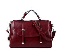 Free Shipping Fashion Retro Women PU Leather Handbags Satchels Bags Women Messenger Bags Shoulder Bags Clutch