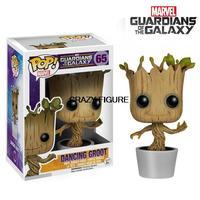 in stock! New! Genuine funko pop Guardians of the Galaxy DANCING GROOT vinyl figure 3.75 inch vinyl figure toys child gift