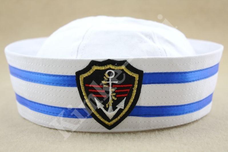 Nova chegada de moda marinheiros chapéu novo do marinheiro da marinha chapéu mulher cap uniforme(China (Mainland))