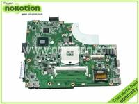 Laptop motherboard For Asus K43L X44H Intel hm65 DDR3 Socket PGA989 REV 3.1 60-N7SMB1400