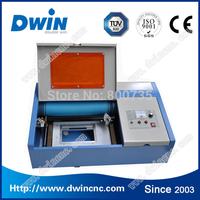 DW40 mini co2 rubber stamp laser engraving machine