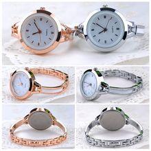 2014 New Women Quartz Wrist Watch Bracelet watch Round Case Wrist Watch Free shipping 31MHM129#S5