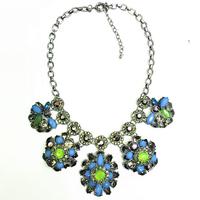 High qulaity vintage choker long flower necklace women fashion Neckalces & Pendants statement Necklaces jewelry Hot saling