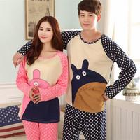 Apparel for Home nightie Pajamas for Women  Ladies Sleepwear Lovers Women's Clothing  Chubby Bear
