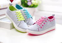 2014 new canvas shoes, Agam shoes skull mushroom Street flat Strappy leisure sports students fresh