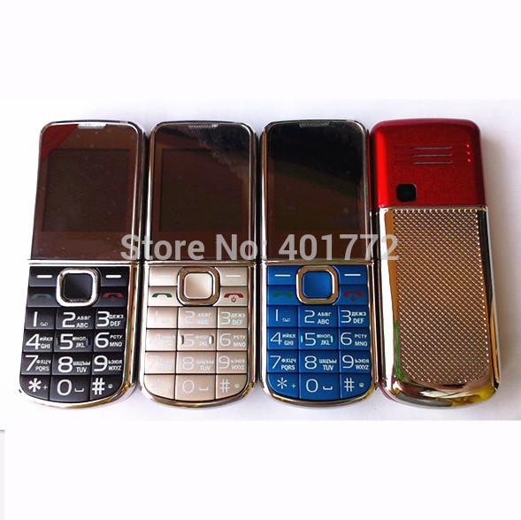 NEW Luxury Metal Phone Mini Cell Phone MP3 Camera Bluetooth FM Radio Cheap Pocket Phone Russian Language/ Keyboard(China (Mainland))