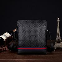 2014 real 100% Genuine leather men bags  cowhide Embossed Business Handmade High-end One Shoulder Worn Men Bags Briefcases
