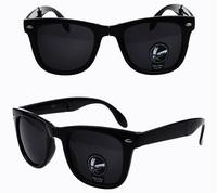 New 2014 oculos Wayfarer FOLD Sunglasses Polarized Men Women Gafas Ciclismo Oculos Retro Cycling Sun Glass female