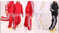 free shipping! Boys and girls sportswear Children sportswear suit children's clothing