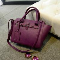 2014 retro vintage Lock it bag women handbag women bag causal bag bolsas femininas PU leather handbags