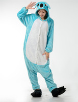 KOALA BLUE Animal Onesie Cosplay Costume Men Women Adult Onesie Pajamas Soft Fleece Pyjamas Jumpsuit Romper Sleepwear