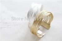 Sweet Bracelet Alloy Braided Twist Bracelets Wholesale