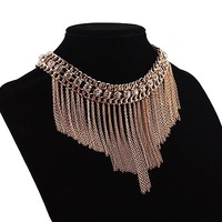 Hot New Women Statement Collar Chain Zinc Alloy Pendant Necklace jewelry