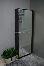 living room furniture shoe cabinet decorative mirror storage cabinet shoe display cabinet (USA Warehouse)(China (Mainland))