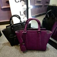 2014 new trend retro handbags solid lips wild tassel women bag big women handbag big portable shoulder bags free shipping