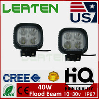 NEW  5inch 40W CREE LED WORK LIGHT BAR FLOOD BEAM DRIVING LIGHTS FOR OFFROAD TRUCK TRACTOR 4WD CAR STYLING PARKING SUV