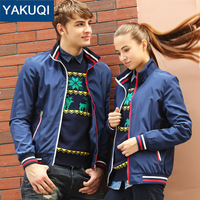 Spring & Autumn Lovers Baseball Jacket Slim Fit Design sports jacket For couple 3 colors