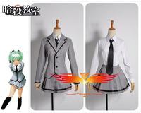Anime Ansatsu Kyoshitsu Kaede Kayano Girl's Uniform Cosplay Costume Custom Made Free Shipping