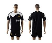 2014-2015  Belgium away soccer jerseys,soccer shirt,soccer uniform,trainning jerseys 100% embroidery