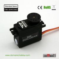 DOMAN RC DM-S0903MD 56g/0.15s/10kg.cm metal gear 300degree robot used 9kg digital servo
