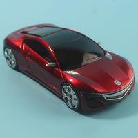 Car Speed Radar GPS Laser Detector Detection Voice Safety Alert GPS Red / Grey