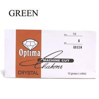 green color nail art diamond ss6 rhinestones 2mm diameter glass rhinestones in paper pack nail rhinestone