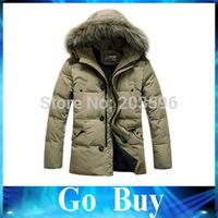 Free shipping YF0809 men's down jacket Korean yards slim stylish down jacket men's Fashion and warm Down&Parkas