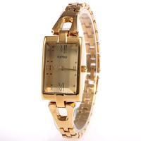 High Quality KIMIO Ms Roman Numerals Bracelet Wrist Watch Fashion Leisure Quartz Watch Free Shipping