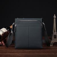 2014 Rushed Real men  bag  Zipper cowhide Business High-end 100% Genuine leather Handmade Embossed Laptop Men Briefcase Bags