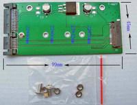 """Free Tracked Shipping   M.2 NGFF (SATA) SSD to 2.5"""" SATA,M.2 NGFF (SATA) SSD to 2.5 SATA adapter"""
