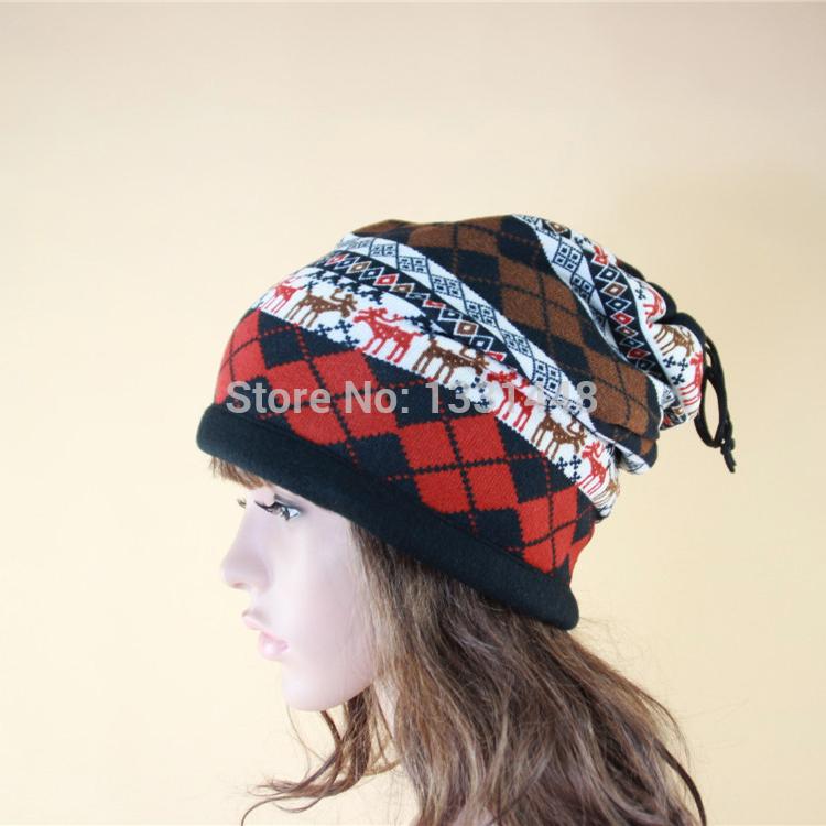 2014 Stylish fashion animal pattern functional hat/neck warmer(China (Mainland))