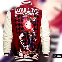 Japanese Anime Cartoon Love Live Nishikino Maki  Baseball uniform Long Sleeve Sweater