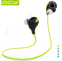 Free shipping High Quality QCY Bluetooth Headphone QY7 Sport Bluetooth earphones Wireless Stereo Headset  Microphone Sweatproof
