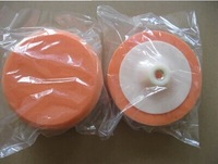 free shipping /2pieces Car polishing and waxing sponge disc / 150mm polishing sponge wheel / 6 inches polishing sponge ball