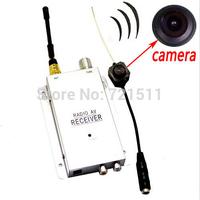 NEW Mini Wireless Security CCTV Nanny Camcorder DVR Camera Hidden Pinhole Micro Cam DV Video Recorder + Receiver Complete System