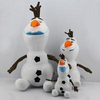 Free Shipping bigest 50CM  19.7inch Cartoon Frozen plush Frozen Olaf Plush Olaf plush Toys Frozen figures