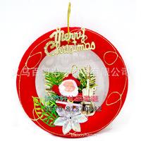 Christmas decoration Christmas gift Santa Claus rings decorated Christmas tree ornaments Christmas supplies