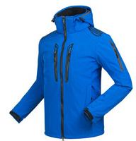 2014 Winter Hiking Jacket Men Brand Jacket Skin Softshell Outdoor Jacket Men Waterproof Windproof Outdoors Hiking Clothing Men