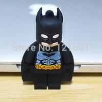 Free Shipping 128MB 4GB 8GB 16GB 32GB 64GB Cartoon toy robot batman USB 2.0 Flash Drive Memory Stick Car/Thumb/Pen