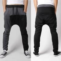 2015 Men's Casual Stylish Rope Long Sporting Sweat Baggy Pants Causul Sportswear Training Trousers Jogging Harem Slacks