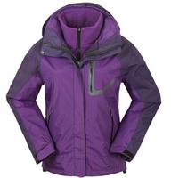 2014 Women's Winter Outdoor Sports coat woman Snowboard ski Jackets / Lady Waterproof Sportswear Two Piece Skiing suits