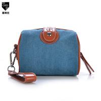 Hot canvas bag 2014 new outdoor leisure shoulder bag Messenger bag ladies  camera bag free shipping